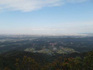 台灣小百岳第21座-桃園大溪金面山之三角點