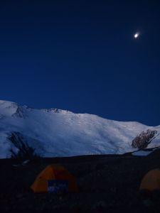 列寧峰(海拔7134米)--BC風景