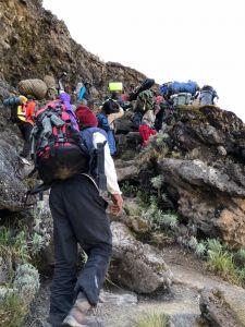 201802哭著拖上去ㄉ吉利馬札羅火山