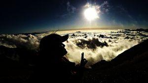 合歡山雲海夕陽