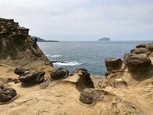 深澳象鼻岩隨走