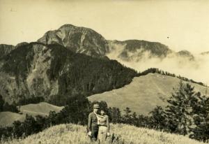 1970元旦登雪山主峰