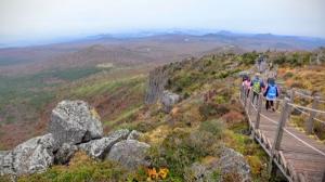 【韓國】韓國第一高峰─楓情萬種「漢拿山」(御里牧/靈室路線)