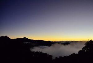 向陽山嘉明湖
