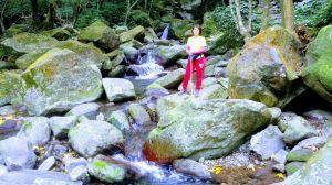 尖山湖與青山瀑布串走