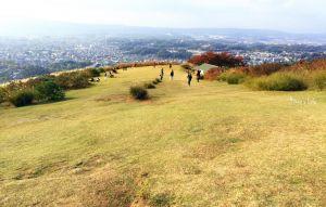 日本奈良若草山
