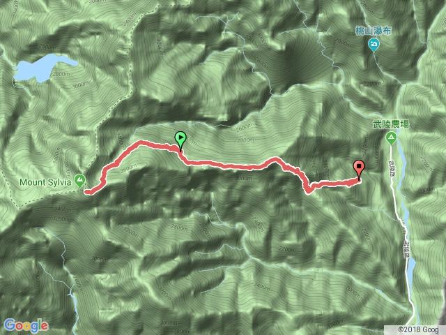 2016.07.16~17 雪山主峰、東峰線