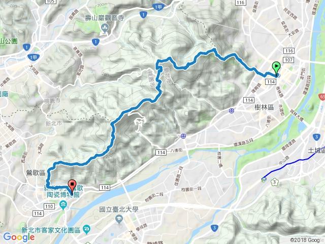台北天際線第八段 -- 樹林經大棟山至鶯歌