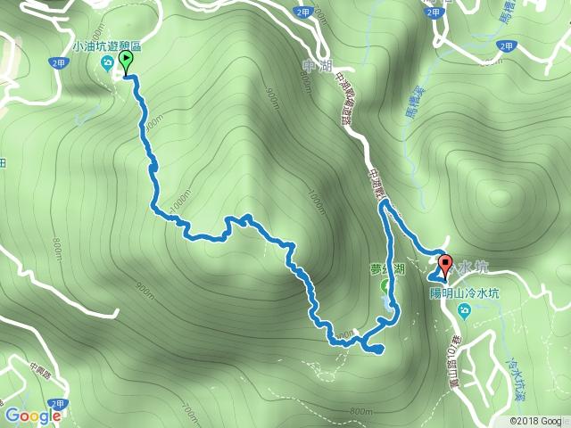 小油坑-七星山主峰-東峰-夢幻湖-冷水坑