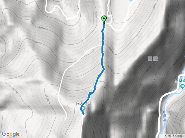 小百岳032向天湖山 (2016.12.04)