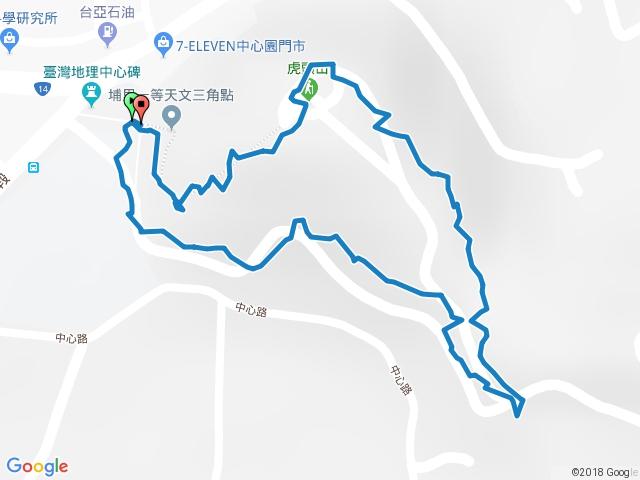 埔里.虎子山.2016-12-18