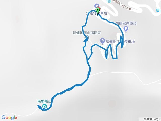 烘爐地停車場→南勢角山20171222