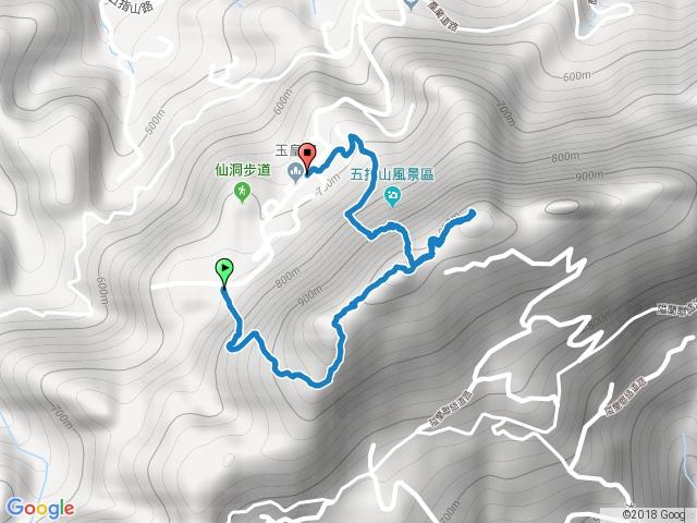 小百岳030五指山(竹林禪院上,灶君堂下) (2015.12.05)