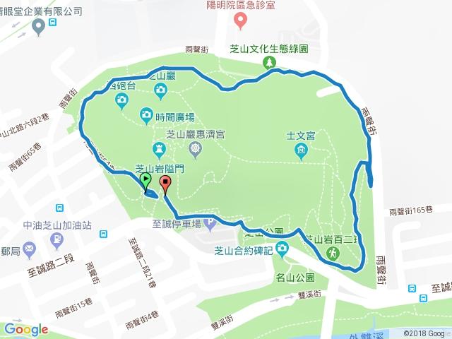 芝山岩環狀步道夜行 20180118