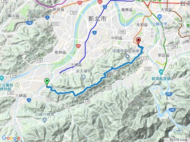 台北天際線三峽~中和