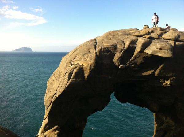 初訪象鼻岩
