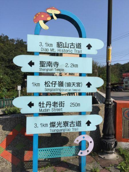 燦光寮山大台北地區一等山角點