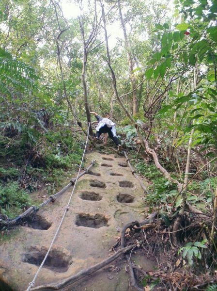 平溪中央尖登山步道