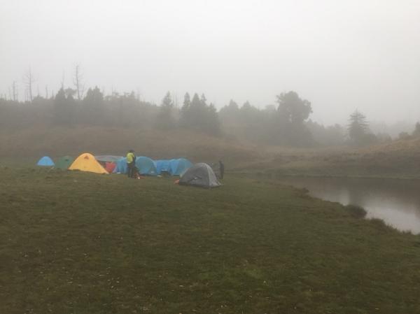 霧朦加羅湖