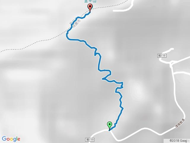 金平山步道