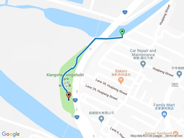 香山紅樹林公園步道