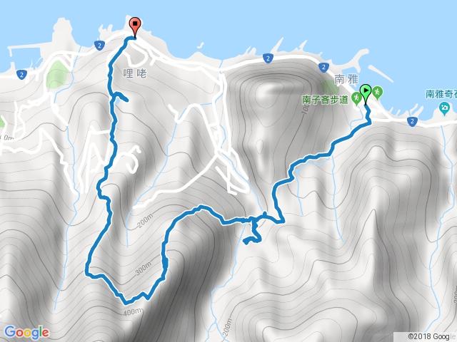 2018-04-26 保羅尖、劍龍稜、鋸齒稜381峰、黃金池下半部O型縱走