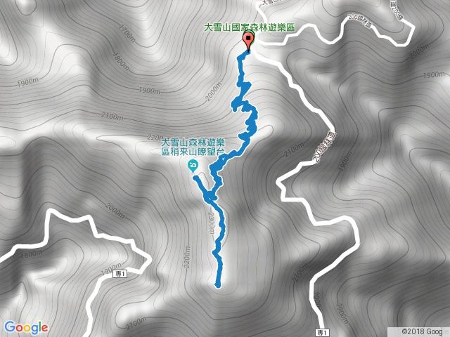 35K登 稍來山南峰+稍來山