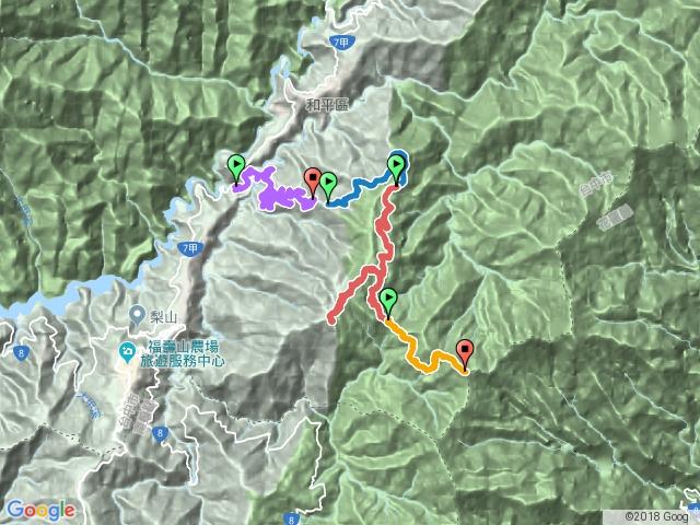 730林道登閂山、鈴鳴山