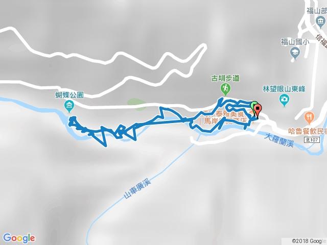 1060924大羅蘭溪古圳步道(福山馬岸)
