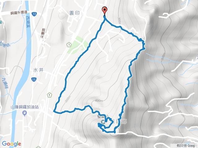 苗栗銅鑼雙峰山步道
