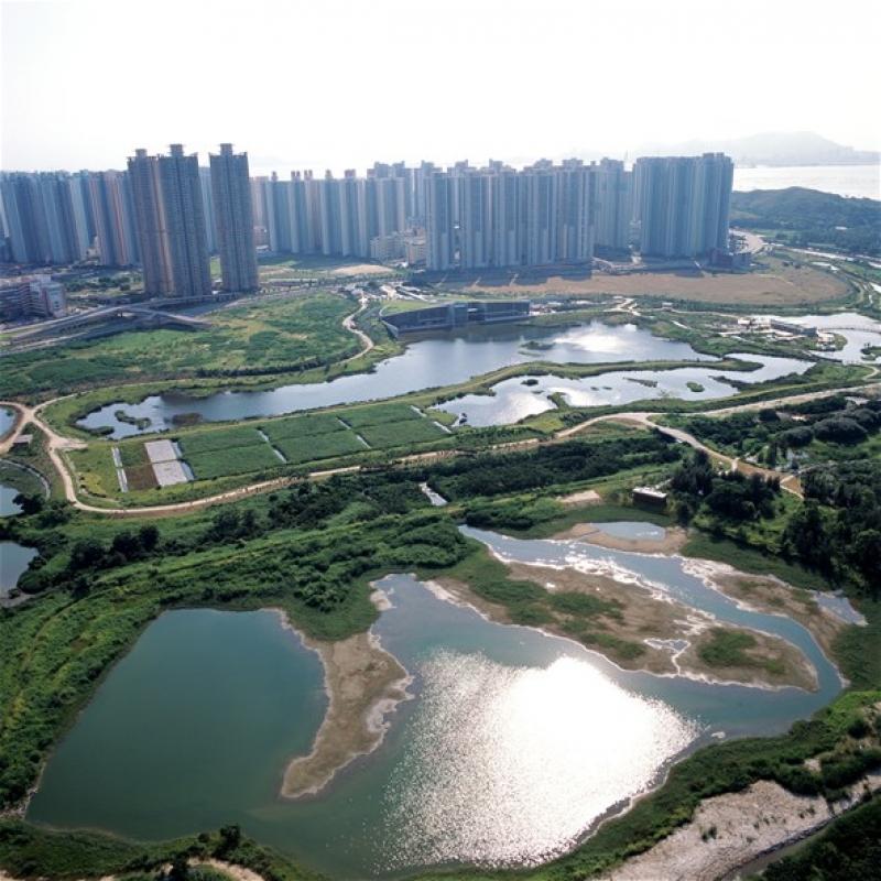 香港濕地公園、尖鼻咀