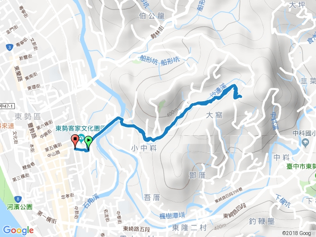 東勢小中嵙登山步道