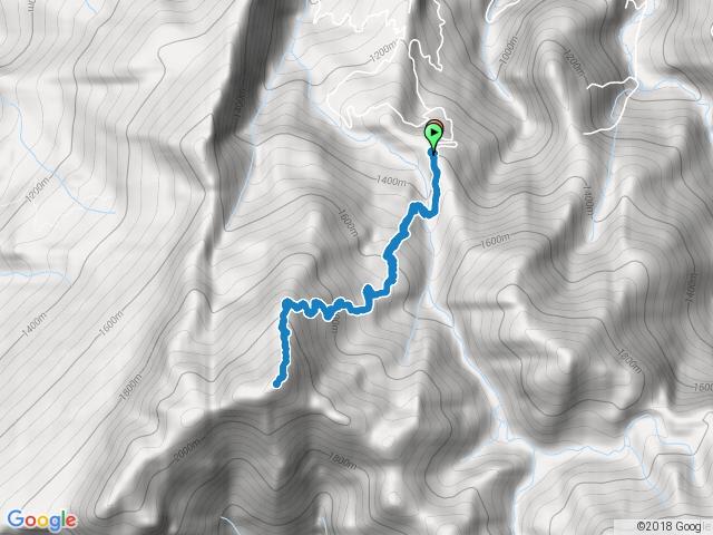 2016.12.18 小百岳034加里山(鹿場登山口)