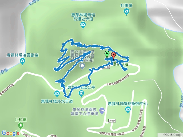 南投惠蓀林場松風山步道20180506