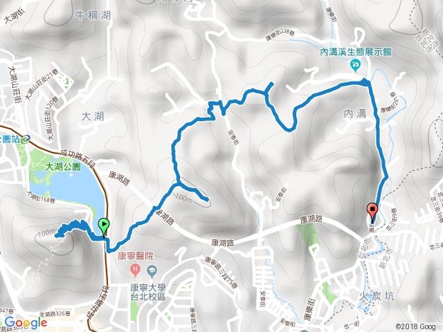 2016-05-28 內湖 白鷺鷥山-康樂山-明舉山(柿子山)