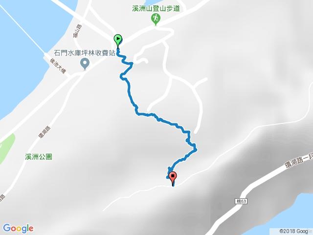 溪洲山(坪林收費站-愚公亭)