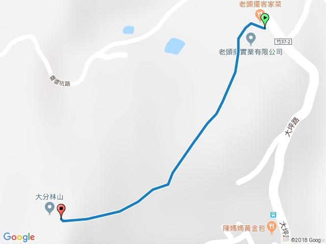 大分林山步道
