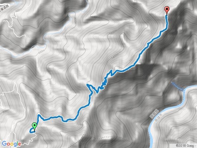 幾阿佐名山登山步道