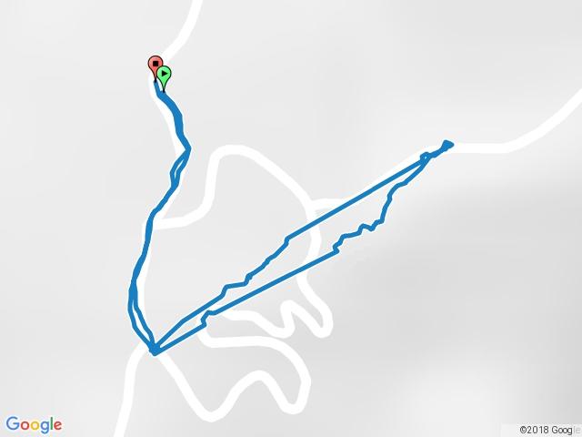 台20線64.5K右側產業道路→白雲山(一等▲)