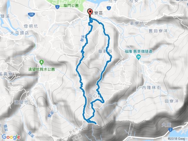 【貢寮】虎子山古道、龜媽坑古道西中東線O型