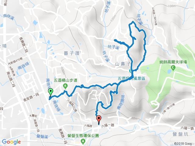 桃園蘆竹五酒桶山