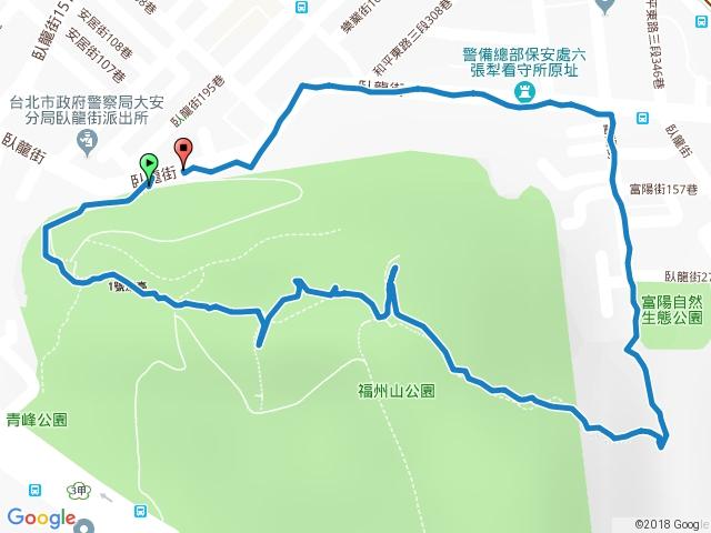 福州山下富陽公園O型 20180215
