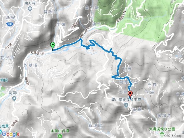 20161011內湖大崙頭山步道