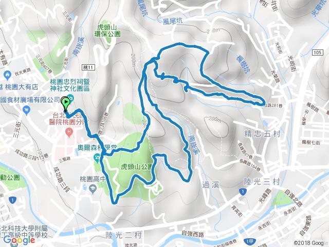 桃園虎頭山步道(神社-神社)