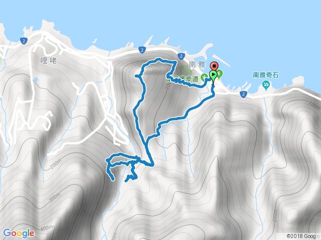 南雅社區劍龍鋸齒稜線新登山口