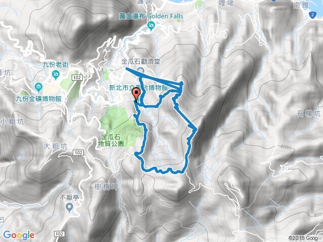 黃金三稜(茶壺山、半屏山O型)