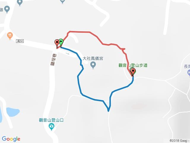 大社觀音山.拉繩O型.20180204