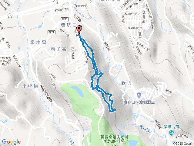 楊梅福人登山步道